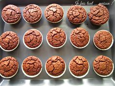 Muffins EXTRA moelleux au chocolat - Muffins très moelleux au chocolat Imágenes efectivas que le proporcionamos sobre healthy eating Un - Tart Recipes, Dog Food Recipes, Snack Recipes, Dessert Recipes, Köstliche Desserts, Chocolate Desserts, Delicious Desserts, Dessert Party, Apfel Snacks