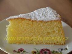 Citronová babeta Sin Gluten, Bunt Cakes, Sponge Cake, Cornbread, Vanilla Cake, Food And Drink, Sweet, Ethnic Recipes, Desserts
