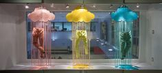 Colour Window Display 2014, Visual Merchandising Arts at Seneca's School of Fashion.