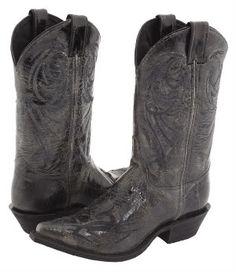 Women's Black Cowboy Boots
