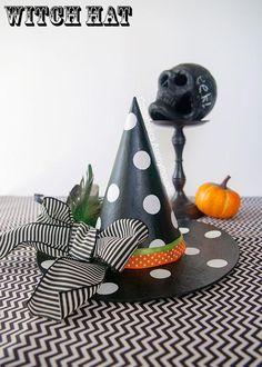 DIY Halloween: DIY Witch Hat