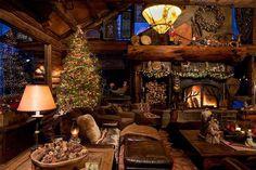 cabins at Christmas - Bing Images