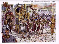 Emperor Constantine ll...Born February, 316 Arelate, Viennensis Died 340 (aged 24) Aquileia, Italia