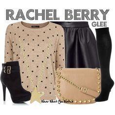 Inspired by Lea Michele as Rachel Berry on Glee.