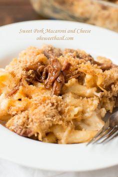 Sweet Pork Mac N Cheese