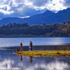 Bella foto desde la Laguna de Mucubaji #Venezuela,