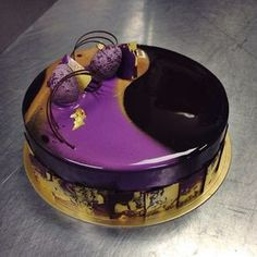 Chocolate/chocolate Easter entremet for Norman Love Confections: