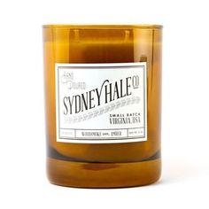 Sydney Hale Woodsmoke + Amber Candle