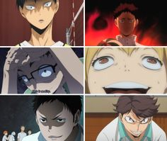The author of Haikyuu used to make Horror manga and this anime is one huge meme xD<<< Knew this but now I see these pictures and I'm terrified by them.