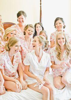 Brides: Bridesmaids Gift Idea: Cozy Pajama Sets