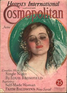 Cosmopolitan June, 1932 - by Harrison Fisher | Ephemera Forever