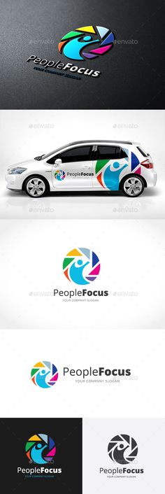 People Focus Logo Template #design #logotype Download: http://graphicriver.net/item/people-focus-logo/13980300?ref=ksioks