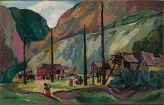Hagwilgate (1912) - Emily Carr