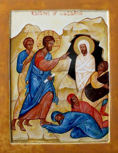 Raising of Lazarus by Anna DuMoulin