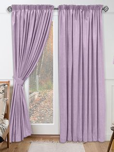 Spectrum Lavender Curtains from Curtains 2go