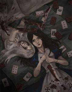 """""""Alice: Madness Returns"""" Alice, and Hysteria Alice"""