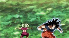 UI Goku dodging kicks