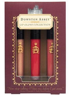 An official Downton Abbey Cosmetics line is coming out in October!!!