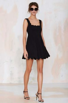 #Fashion  Summer Style : Nasty Gal I'm Yours Dress - Black - Going Out | Fit-n-Flare | LBD | Dresses ...