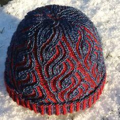 Der Neue Liguria by Katrin Schubert, knitted by Knitting Yarn, Hand Knitting, Knitting Patterns, Crochet Patterns, Knit Or Crochet, Hand Dyed Yarn, Double Knitting, Bandeau, Crochet Accessories