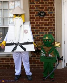 Ashley: My son loves all things Lego and especially all things Ninjago so he decided he wanted to be the Green Ninja (Lloyd Garmadon) for Halloween. So since Lloyd is a...