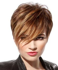 Short Forehead Sophisticated Easy Hairstyles For Girls To Look Wonderful.
