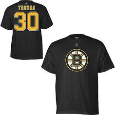 Reebok Boston Bruins Tim Thomas Name & Number T-Shirt Reebok. $24.95