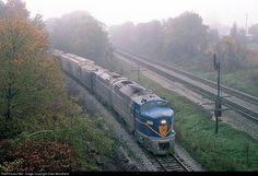 RailPictures.Net Photo: DH 1205 Delaware & Hudson Baldwin RF-16 at Tioga Center, New York by Dale Woodland