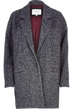 River Island Oversized Boyfriend Coat, £75