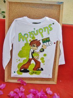 ΜΠΛΟΥΖΑΚΙΑ Archives - e-paidotopos. Hand Painted, My Favorite Things, T Shirt, Crafts, Accessories, Shopping, Supreme T Shirt, Tee Shirt, Manualidades