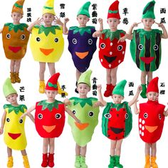 Resultado de imagen de disfraz de frutas