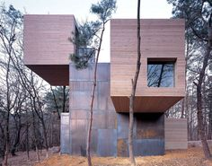 ELEMENT HOUSE SPIRITUAL MEDITATION IN NATURAL PARK OF ANYANG RESORT IN KOREA by Rintala Eggertsson Architects