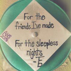 Graduation cap - The front bottoms lyrics tfb grad quotes