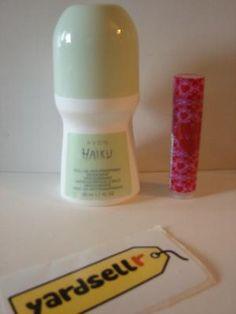 Haiku Deodorant & Chapstick-Avon http://yardsellr.com/for_sale#!/haiku-deodorant--chapstick-avon-3322496