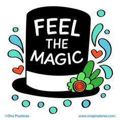Feel the magic #motivation #dailydrawing #love