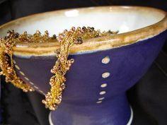 Wordless Wednesday: Bowl of Treasure Ceramic Bowls, Blackberry, Wednesday, Artisan, Ceramics, Ceramica, Pottery, Blackberries, Craftsman
