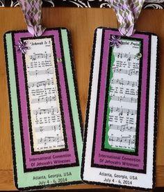 International Convention Bookmarks