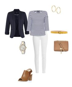 Spring 2016 GYPO Style Challenge | Style Challenges Member Site Spring Challenge, Style Challenge, What Should I Wear, What To Wear, Casual Friday Outfit, White Jeans Outfit, Work Fashion, Fashion Ideas, Spring Summer Fashion