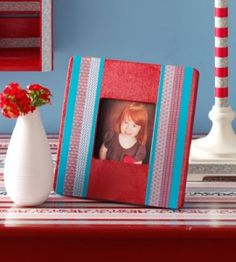 Duct Tape Craft Frame | Crafts for Home | Decor & Accessory Crafts — Country Woman Magazine