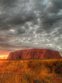 Ayers Rock, Uluru,Australia - this makes me want to pull out my old X-Men books...