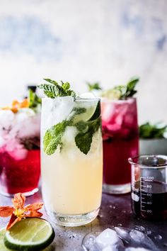 #Kombucha tea is the perfect ingredient to add a kick of vitamins to cocktails, mocktails and more | #drinks