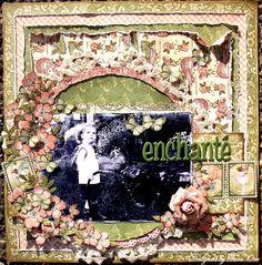 Enchante * Graphic 45 * by sexypeanut @2peasinabucket