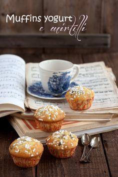 muffins yogurt e mirtilli
