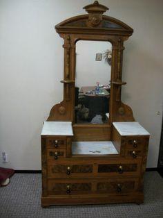 antique marble top dresser value. beautiful antique eastlake victorian walnut \u0026 burl marble drop center dresser top value s