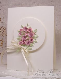 CC474 Wedding bouquet by Arizona Maine - Cards and Paper Crafts at Splitcoaststampers