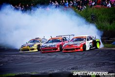 Round Three of the Maxxis British Drift Championship at Teesside Autodrome,