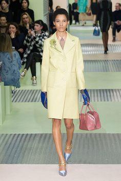 Prada's 2015 Fall Collection, Milan Fashion Week.