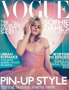 Vogue UK February 2003 - Sophie Dahl