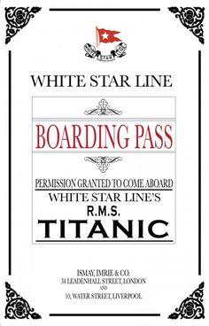 Titanic dinner party