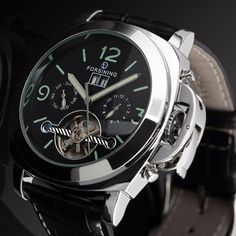 33f352302 GLADIATOR MAXIMUS Analog Self-Winding Automatic Tourbillion Elite Men Watch  With Day Of The Week Dial